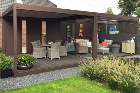 Ideale afmeting veranda