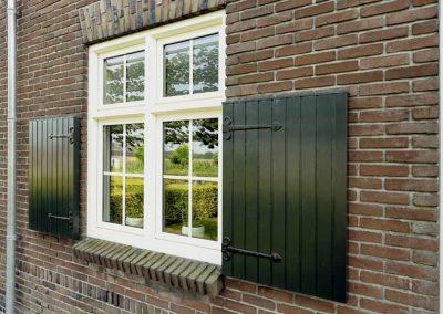 Renovatie, kunststof kozijnen en deuren in Deurne
