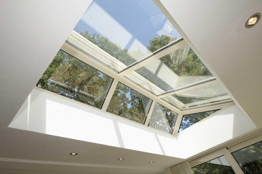 Renovatie, aluminium lichtstraat kozijnen zonwering, Melick (3)