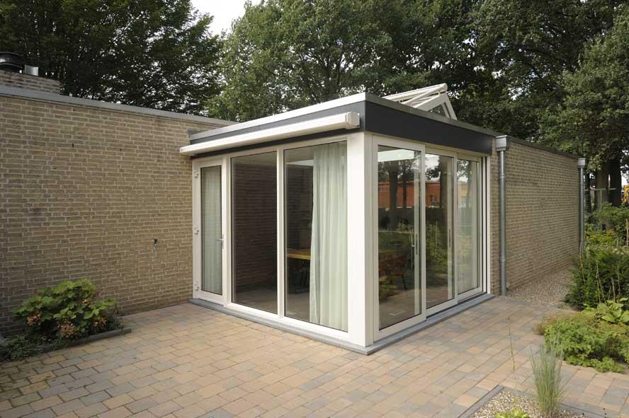 Renovatie, aluminium lichtstraat kozijnen zonwering, Melick (8)