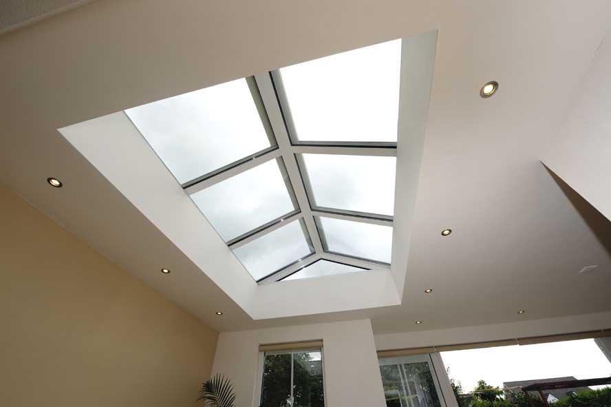 Renovatie, aluminium lichtstraat openslaande tuindeuren zonwering, Stevensweert (5)