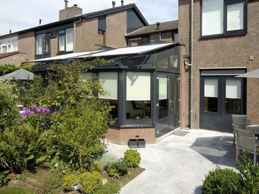 Renovatie, aluminium serre en lichtstraat in Nuenen