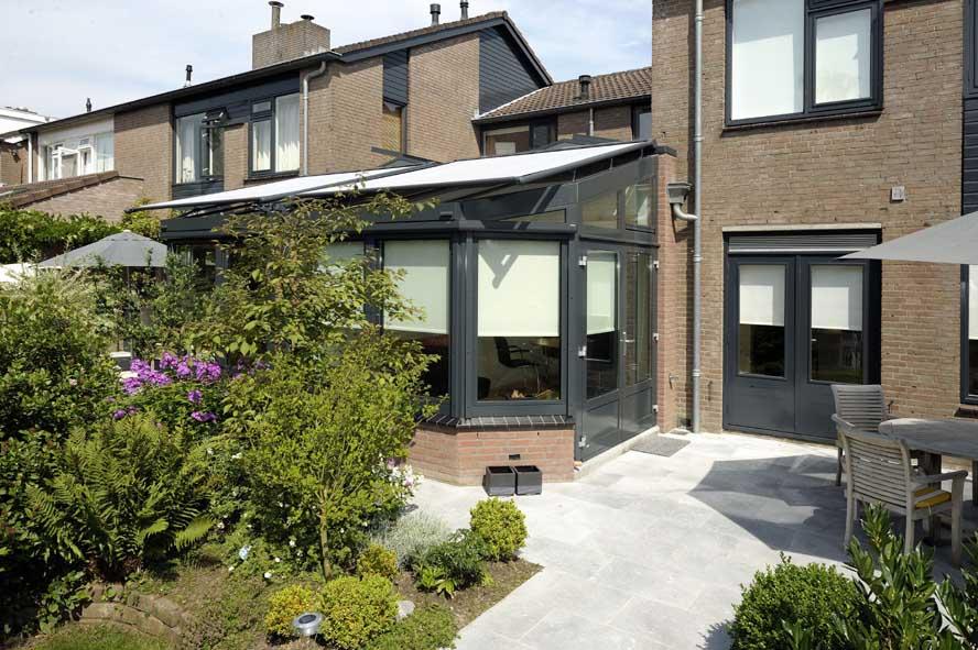 Renovatie, aluminium lichtstraat serre, Nuenen (5)