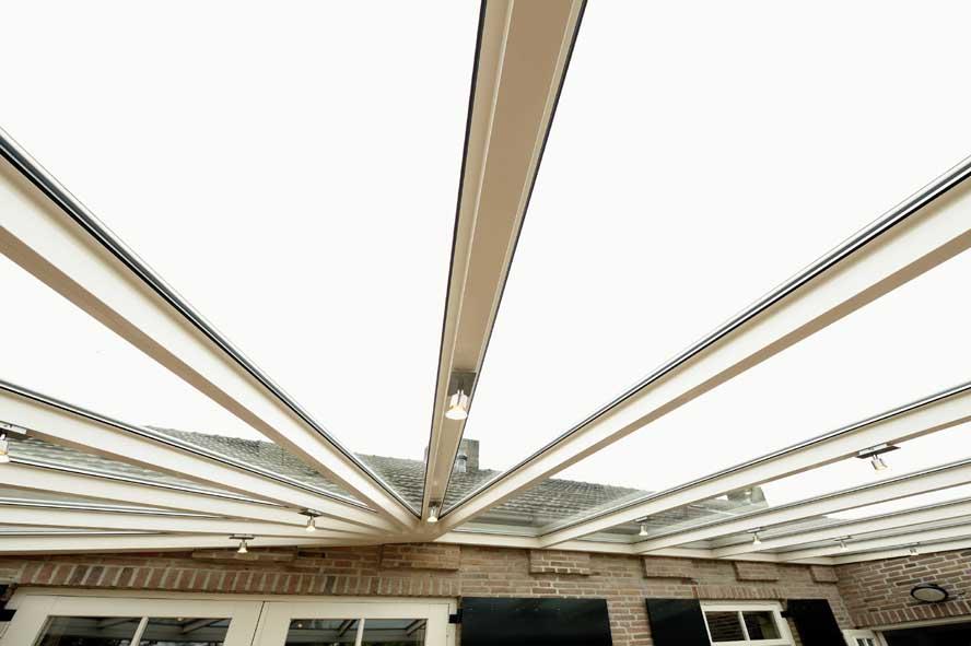 Renovatie, aluminium overkapping, Casteren (1)