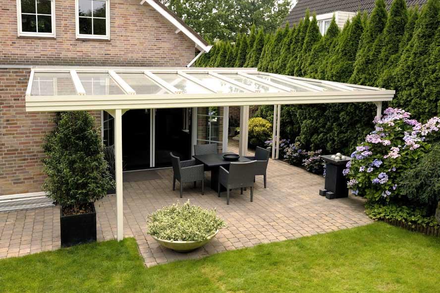 Renovatie, aluminium overkapping openslaande tuindeuren kozijnen horren, Oisterwijk (1)