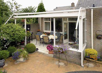 Renovatie, aluminium overkapping en zonwering in Venlo