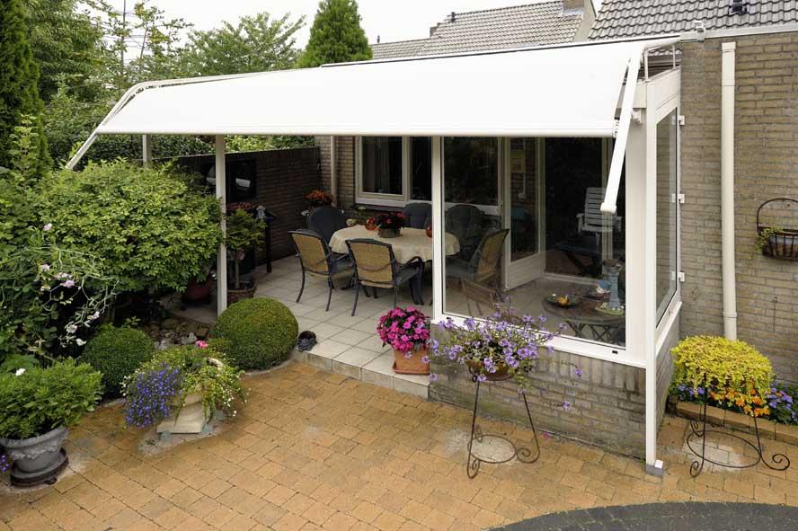 Renovatie, aluminium overkapping zonwering, Venlo (4)