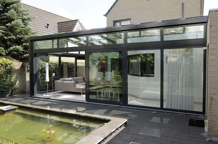 renovatie aluminium serre en schuifpui in venlo bohaco. Black Bedroom Furniture Sets. Home Design Ideas