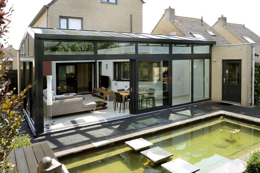 Renovatie, aluminium serre hefschuifpui, Venlo (3)