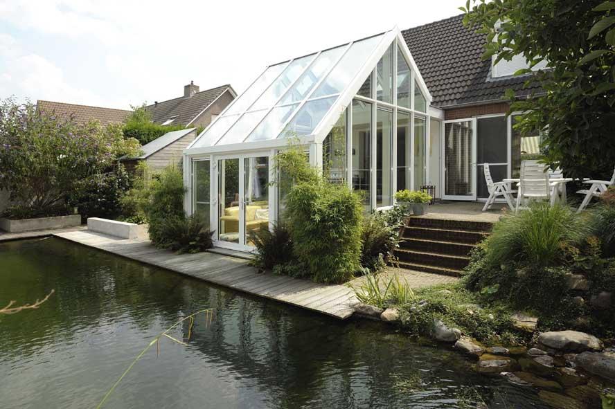 Renovatie, aluminium serre openslaande tuindeuren, Helden (3)