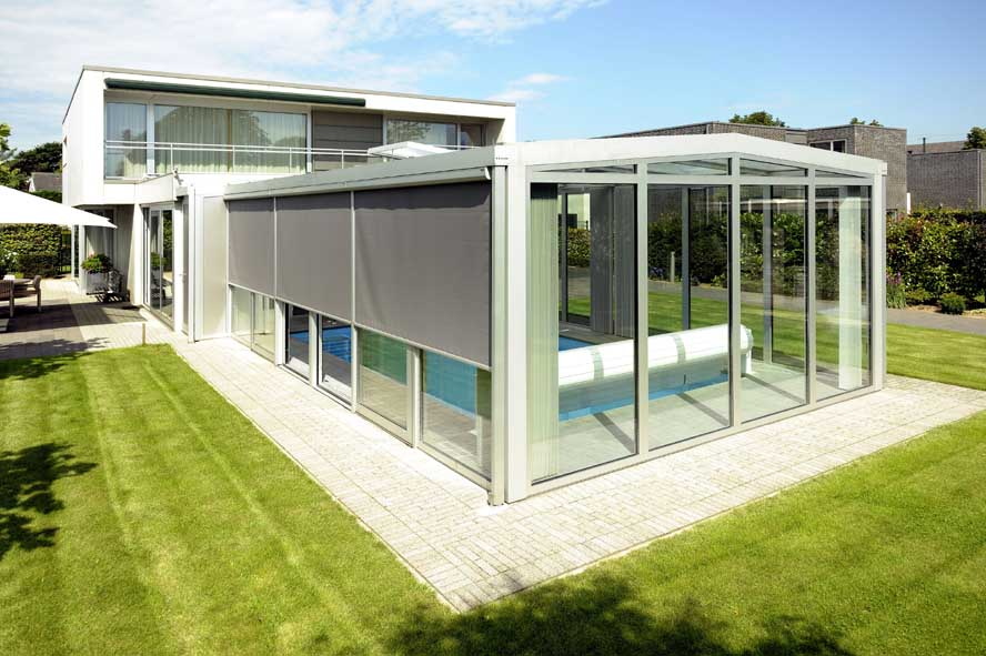 Renovatie, aluminium serre zonwering, Roermond (4)