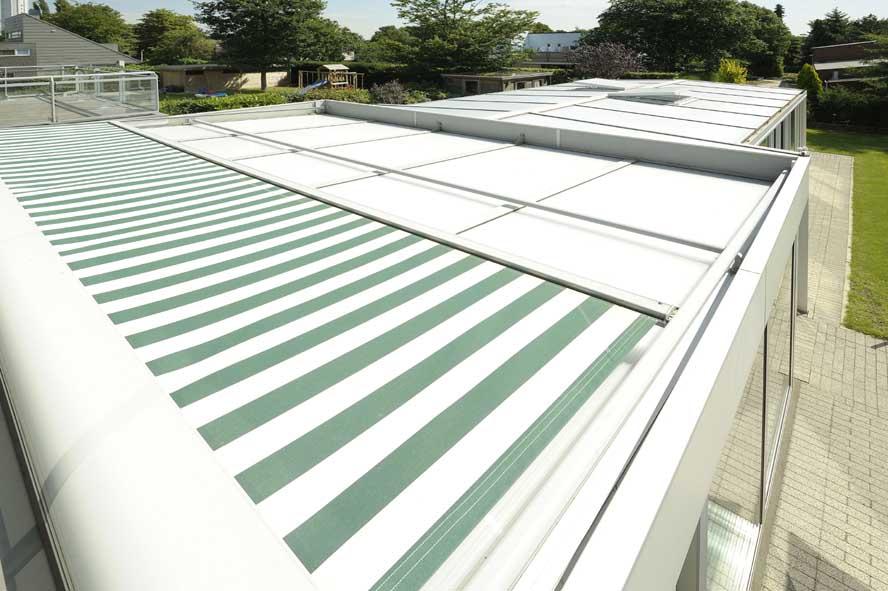 Renovatie, aluminium serre zonwering, Roermond (6)