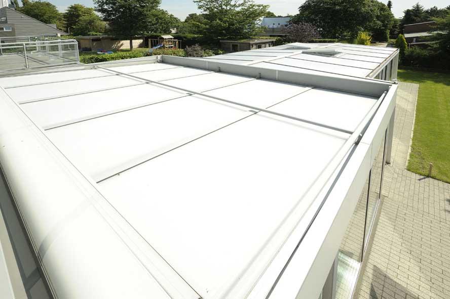 Renovatie, aluminium serre zonwering, Roermond (7)