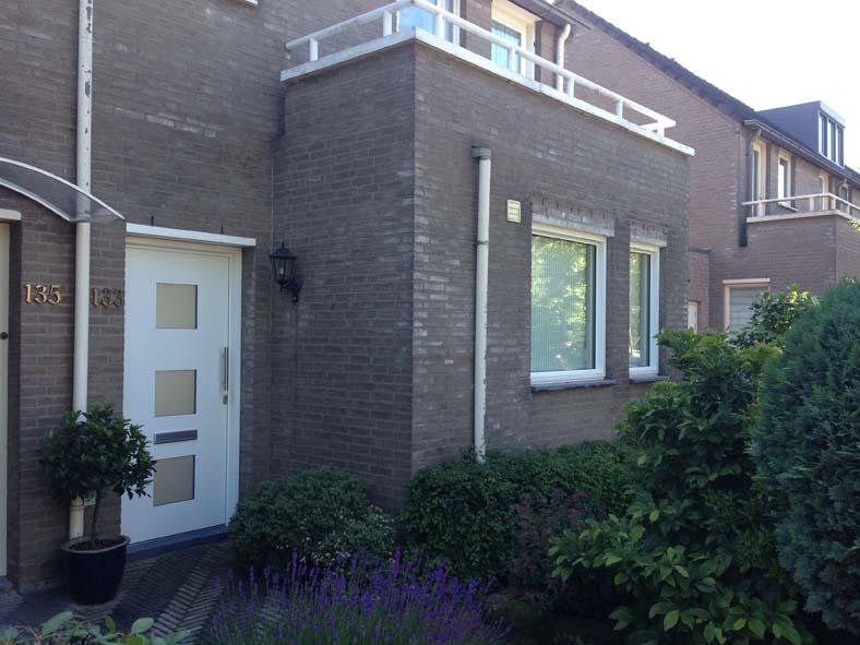 Renovatie, aluminium voordeur en kozijnen in Den Bosch (1)