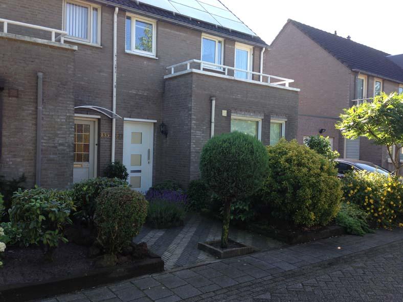 Renovatie, aluminium voordeur en kozijnen in Den Bosch (2)