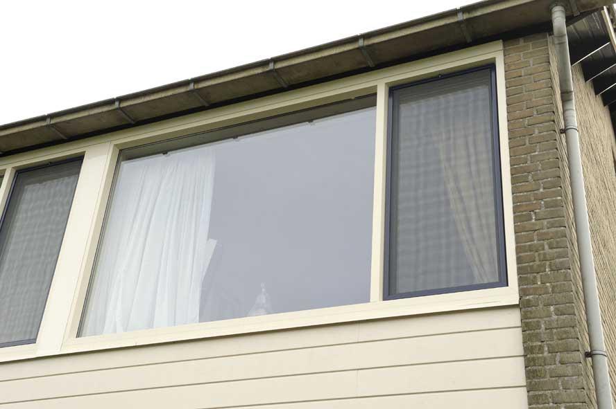 Renovatie, kunststof voordeur kozijnen, Andel (3)