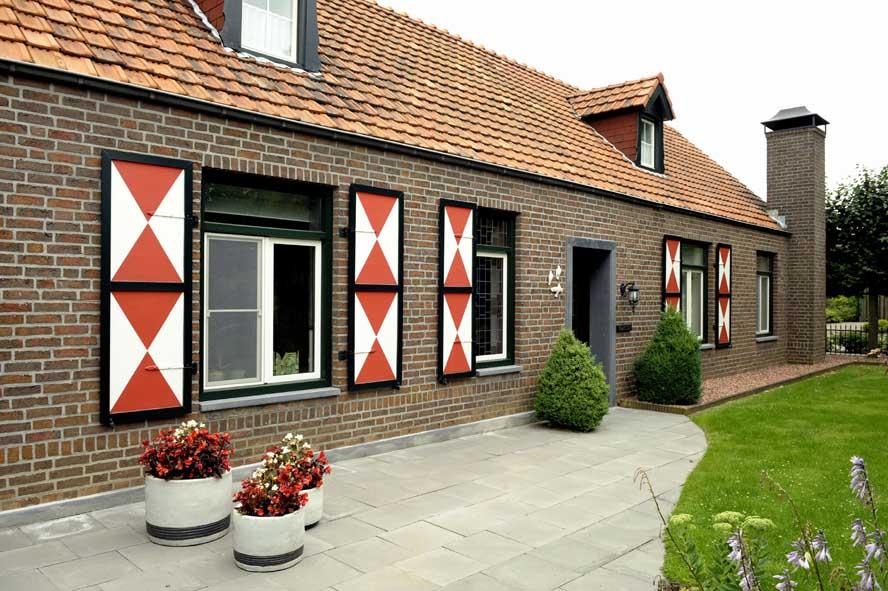 Renovatie, kunststof voordeur kozijnen hefschuifpui horren, Sint Joost (2)