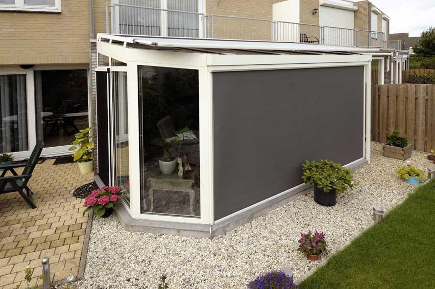 Renovatie, zonwering aluminium serre, Oud Heusden (4)