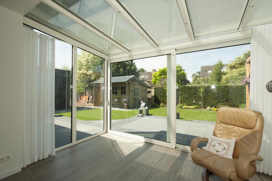 Nieuwbouw, kunststof kozijnen, kunststof voordeur, aluminium serre, zonwering, rolluiken in Vlijmen (3)