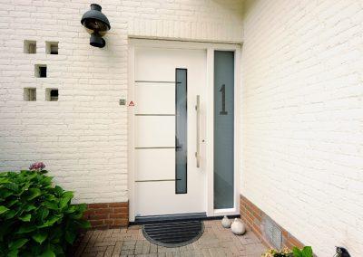 Renovatie, aluminium voordeur, kunststof kozijnen, schuifpui en horren in Maarheeze