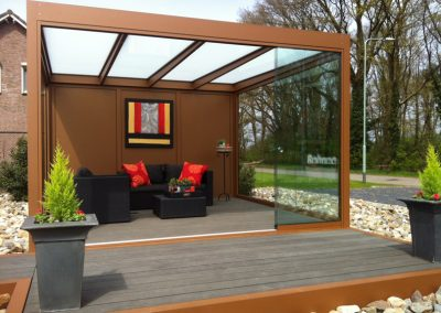 Renovatie Quadro, modulaire overkapping, tuin overkapping, terras overkapping, carport, overkapping in Meijel