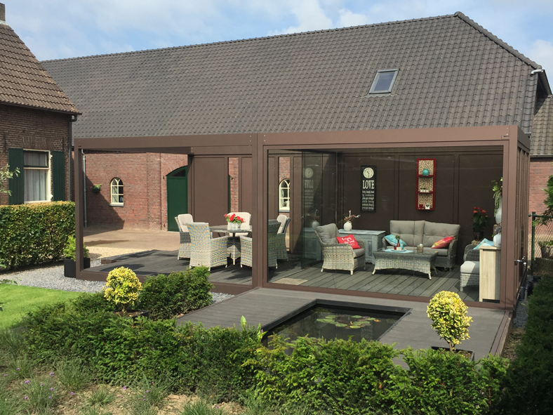 Renovatie quadro modulaire overkapping tuin overkapping terras
