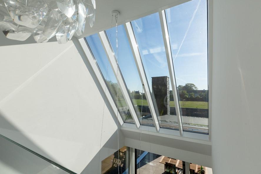Nieuwbouw, aluminium kozijnen, aluminium deuren, serredak, screens, rolluiken in Deurne (17)