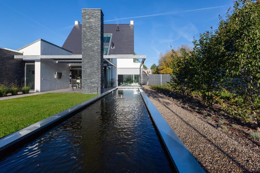 Nieuwbouw, aluminium kozijnen, aluminium deuren, serredak, screens, rolluiken in Deurne (4)