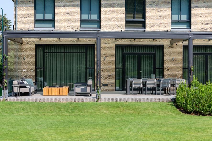 Nieuwbouw, aluminium kozijnen, staallook, aluminium deuren in Boxmeer (14)