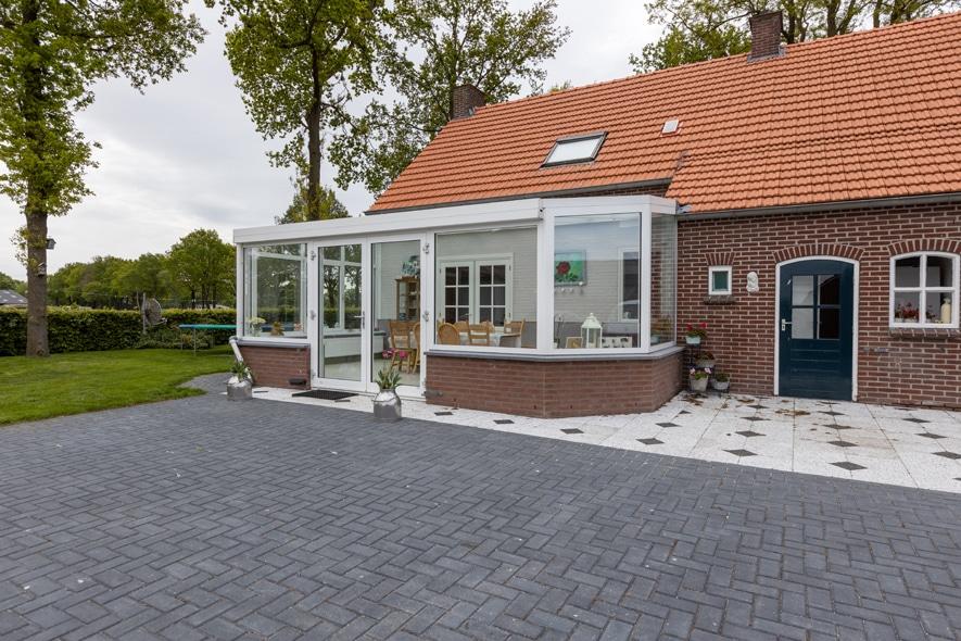 Renovatie, aluminium serre in Deurne