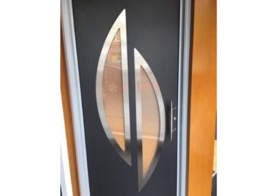 Aluminium voordeur