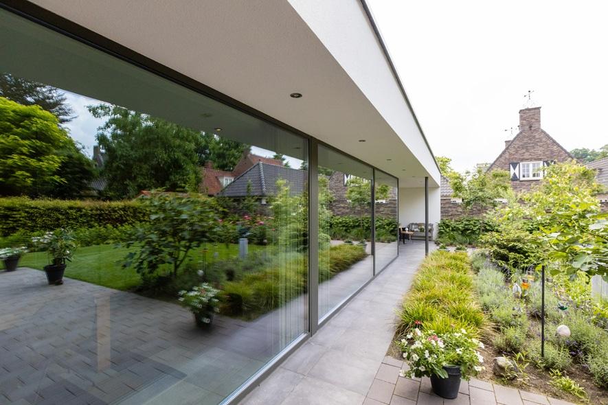 Nieuwbouw, aluminium kozijnen, aluminium deuren in Deurne (11)