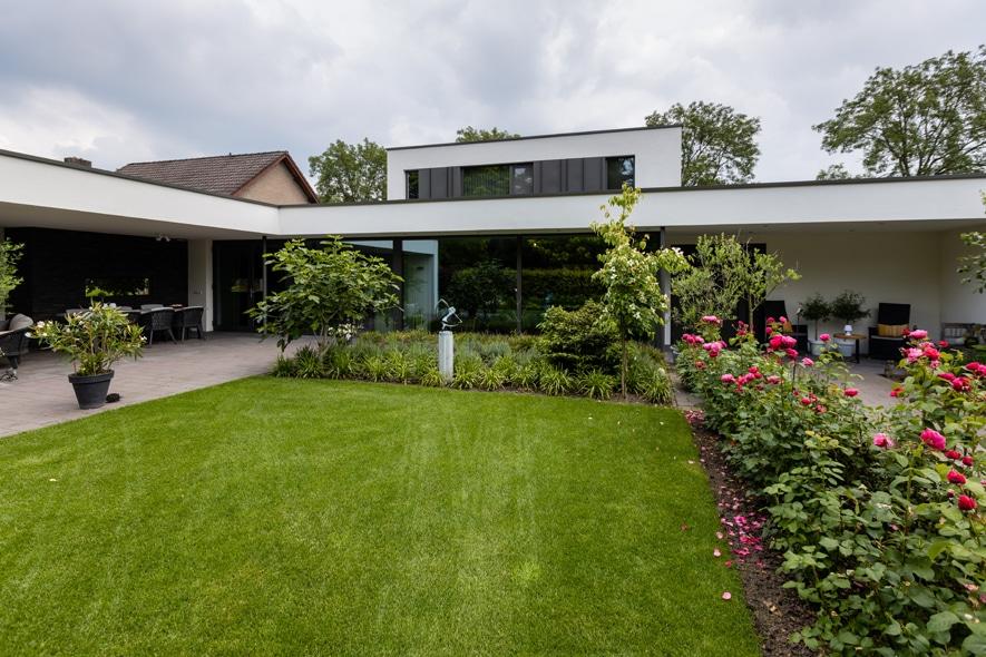 Nieuwbouw, aluminium kozijnen, aluminium deuren in Deurne (12)