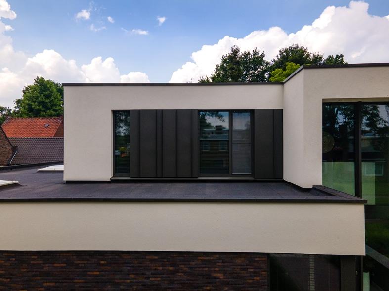 Nieuwbouw, aluminium kozijnen, aluminium deuren in Deurne (13)
