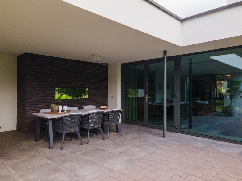 Nieuwbouw, aluminium kozijnen, aluminium deuren in Deurne (14)