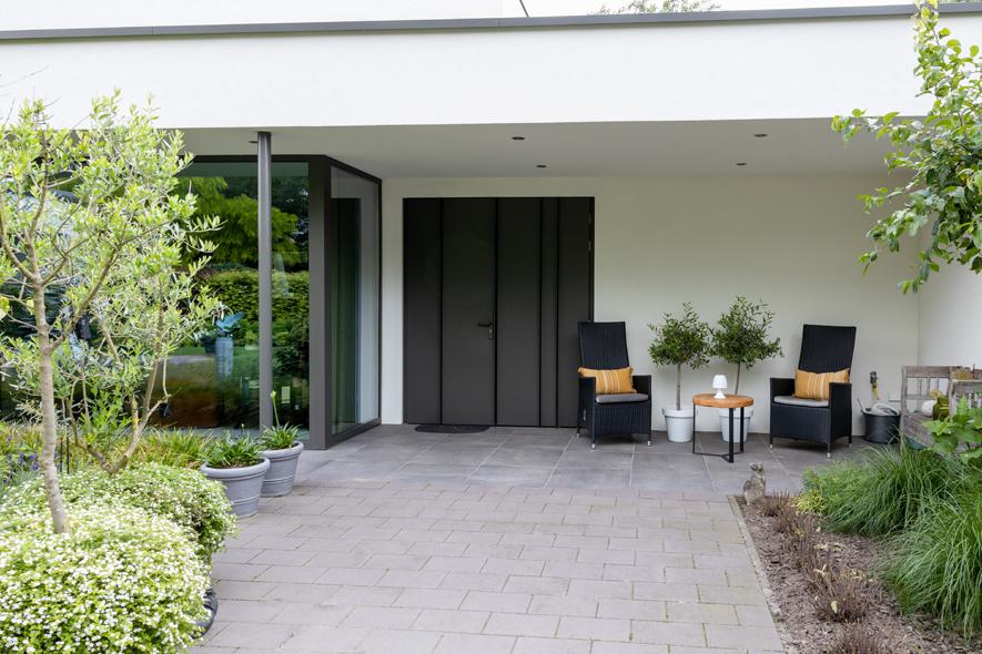 Nieuwbouw, aluminium kozijnen, aluminium deuren in Deurne (15)