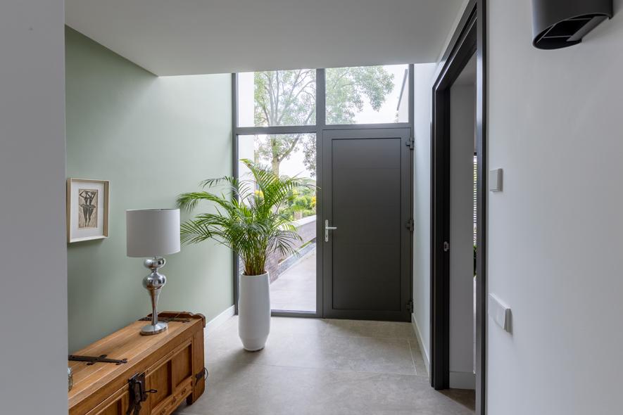 Nieuwbouw, aluminium kozijnen, aluminium deuren in Deurne (19)