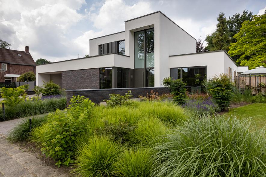 Nieuwbouw, aluminium kozijnen, aluminium deuren in Deurne (20)
