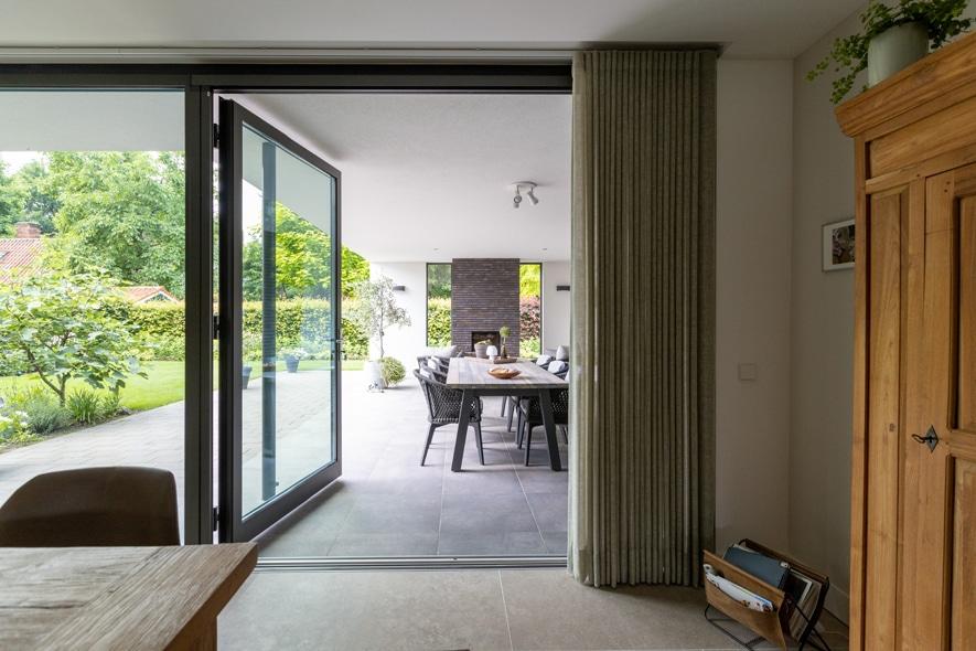 Nieuwbouw, aluminium kozijnen, aluminium deuren in Deurne (6)