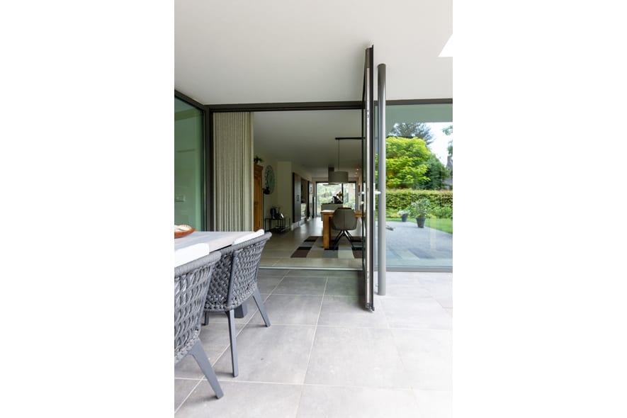 Nieuwbouw, aluminium kozijnen, aluminium deuren in Deurne (7)