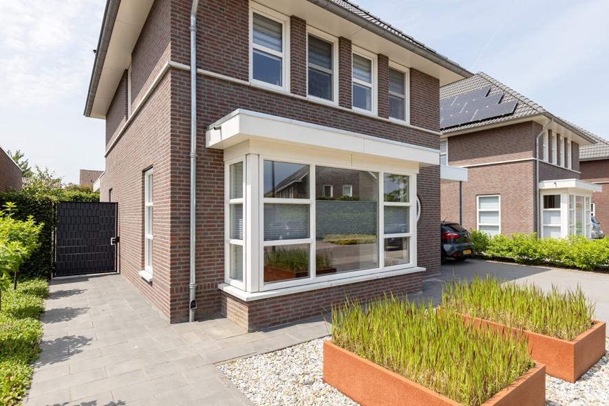 Nieuwbouw, kunststof kozijnen, kunststof tuindeuren in Meijel (3)