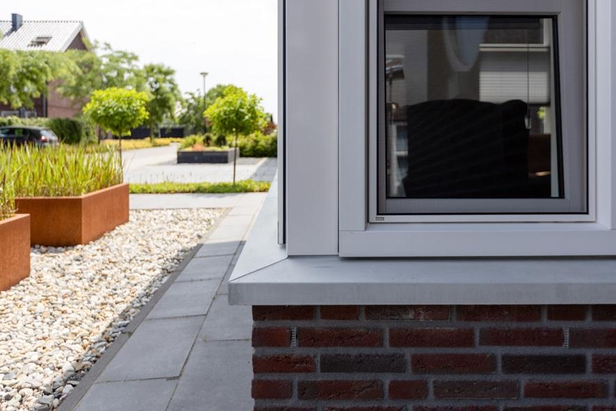 Nieuwbouw, kunststof kozijnen, kunststof tuindeuren in Meijel (4)